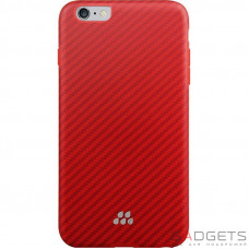 Чехол Evutec SI Karbon Case для iPhone 6/6s Plus Brigadine Оранжевый (AP-655-SI-KA4)
