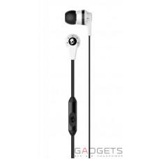 Наушники Skullcandy White/Black INKD 2.0 w/mic 1 (S2IKFY-074)