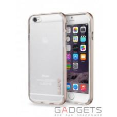 Чохол Laut Exo-Frame Aluminium bampers для iPhone 6 Plus / 6s Plus Gold (LAUT_IP6P_EX_GD)