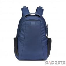 Рюкзак антивор Pacsafe Metrosafe LS350, 6 ст. защиты, синий