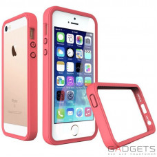 Бампер Evolutive Labs RhinoShield Crash Guard Coral Pink для iPhone 5/5S/SE