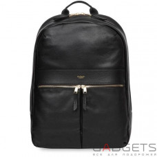 Рюкзак Knomo Beaux Leather Backpack 14 Black (KN-120-401-BLK)