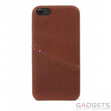 Чехол Decoded Leather Back Cover для iPhone 7 Коричневый (D6IPO7BC3CBN)