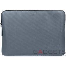 Чехол-конверт Knomo Geometric Embossed Laptop Sleeve Silver for Macbook 12 (KN-14-209-SIL)