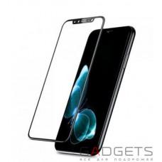Защитное стекло Baseus 0.2mm Silk-screen Tempered Glass Black для iPhone X (SGAPIPH8-ASL01)