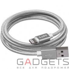 Кабель для передачи данных Laut Charge/Sync Cables Silver (LAUT_LKM_LTN1.2_SL)