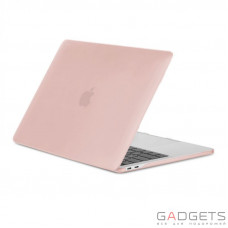 Чехол-накладка Moshi Ultra Slim Case iGlaze Blush Pink for MacBook Pro 13 with/without Touch Bar (99MO071302)