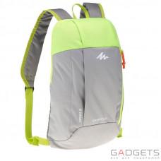 Рюкзак ARPENAZ 10 л Quechua Серый/Салатовый