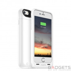 Додатковий Акумулятор Mophie Juice Pack Air Case White 2750 mAh for iPhone 6/6S (3044-JPA-IP6-WHT)