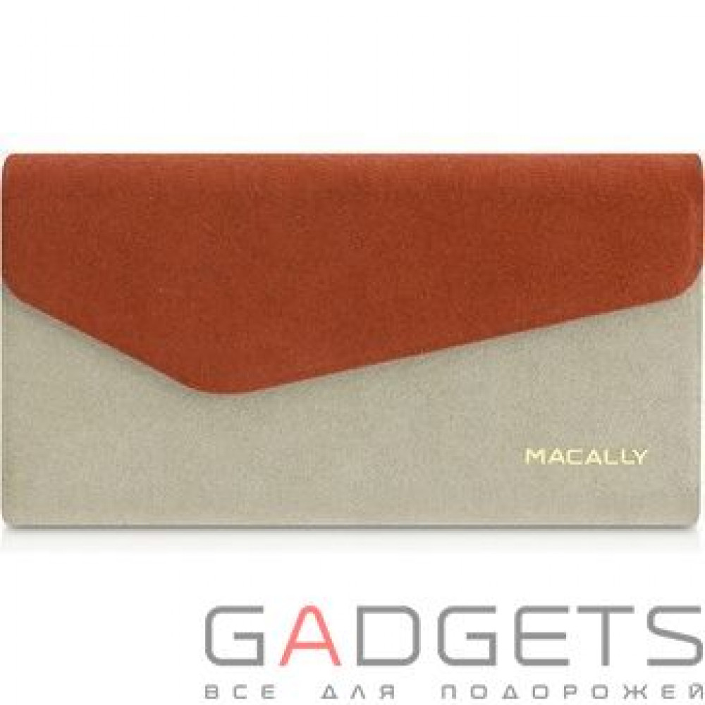 Фото Чехол Macally Protective Wallet Folio Case for iPhone 5C (WALLETP6-O)