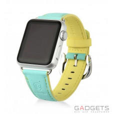 Ремешок Baseus Colorful Watchband для Apple watch 38mm Green-yellow