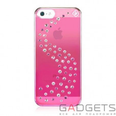 Чехол Bling My Thing Case для iPhone 5 Metallic Mirror ove Mix Pink (BMT-22-16-02-42)