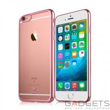 Чехол Baseus Shining case для iPhone 6/6S Plus Rose Gold