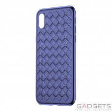 Чехол Baseus BV Weaving Case для iPhone X Blue (WIAPIPHX-BV03)