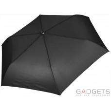 Зонт складной женский Maison Perletti Piatto Catene Черный (16227.2;7669)