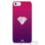 Чехол-накладка White Diamonds Rainbow Pink for iPhone 5/5S (1210RAI41) фото 0