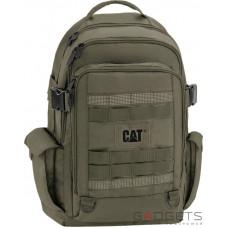Рюкзак для ноутбука 15.6 CAT Combat Visiflash 22л темно-зеленый (83393.351)