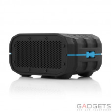 Портативна акустика Braven BRV-1 Portable Wireless Speaker Black with Cyan Relief and Black Grill (BRV1BCB)