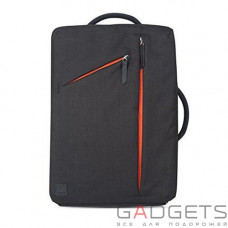 Рюкзак Moshi Venturo Slim Laptop Backpack Charcoal Black (99MO077001)