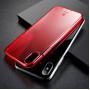 Чехол Baseus Simple Series Case Transparent Red для iPhone X (ARAPIPH8-B09) фото 6