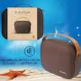 Портативная беспроводная колонка Polo AudioMuse Wireless Speaker Brown (SB-SOUSPBAR-BRW) фото 3