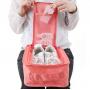 Дорожный чехол для обуви Travelty Shoes Pouch, Peach Pink фото 3