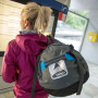Сумка дорожная Vango Cargo 120 Carbide Grey/Volt Blue фото 4