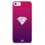 Чехол-накладка White Diamonds Rainbow Pink for iPhone 5/5S (1210RAI41) фото 1