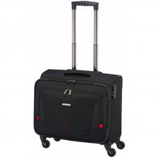 Бизнес-кейс на 4 колесах с отделением для ноутбука 15.6 Travelite Work 32 л Black (TL001741-01)