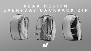 A New Bag From Peak Design! The Peak Design Everyday Backpack Zip.