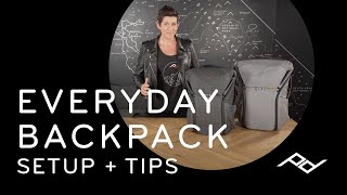 Peak Design Everyday Backpack V1: Setup + Tips