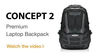 EVERKI Concept 2 Premium Travel Friendly Laptop Backpack, up to 17.3-Inch (EKP133B)