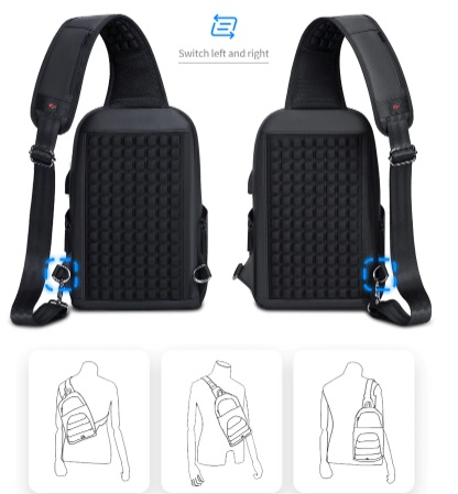Плечевой ремень Rowe Crossbody Sling Pack