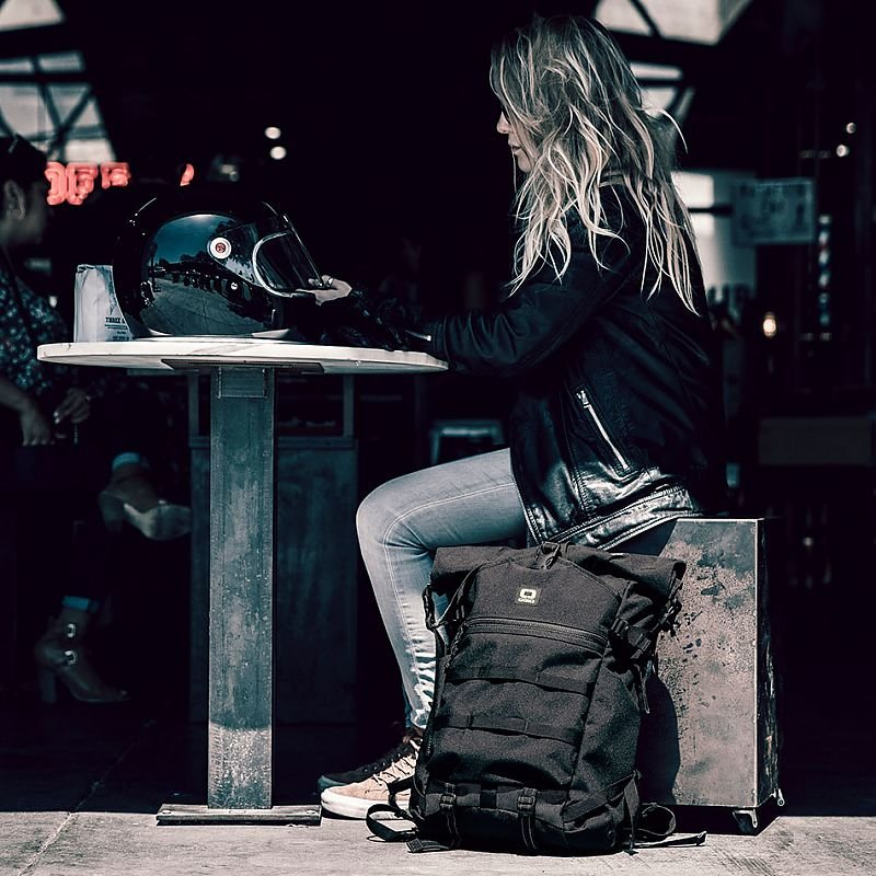 Рюкзак OGIO Alpha Core Convoy 525r Rolltop Backpack Black