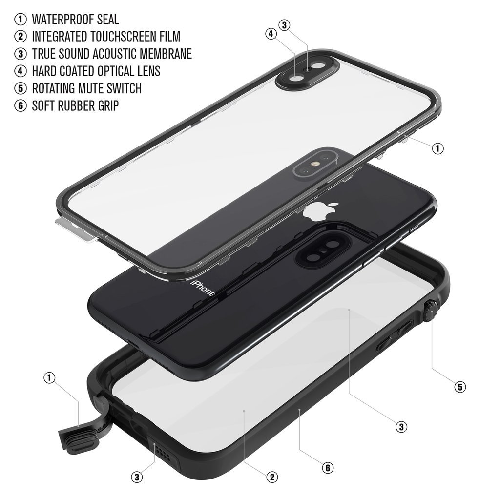 Catalyst Waterproof Case для Apple iPhone X