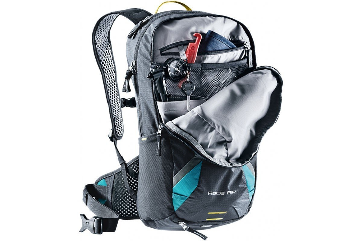Рюкзак Deuter Race Air цвет 2231 alpinegreen-forest