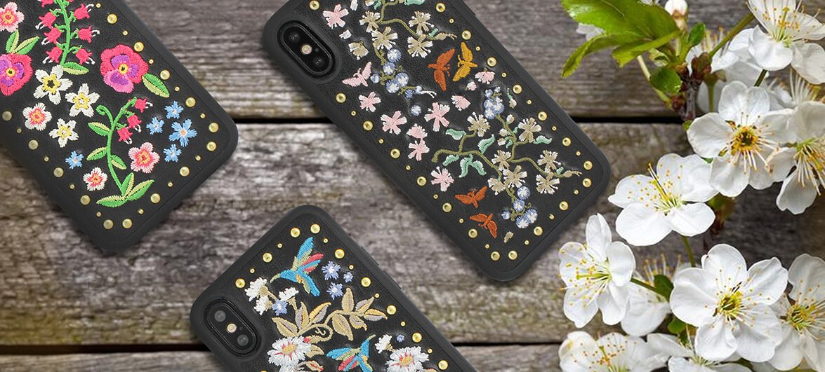 Чехол-накладка Luna Aristo Lilith for iPhone X/XS Gardenia (LA-IPXSPLIL-GAR)